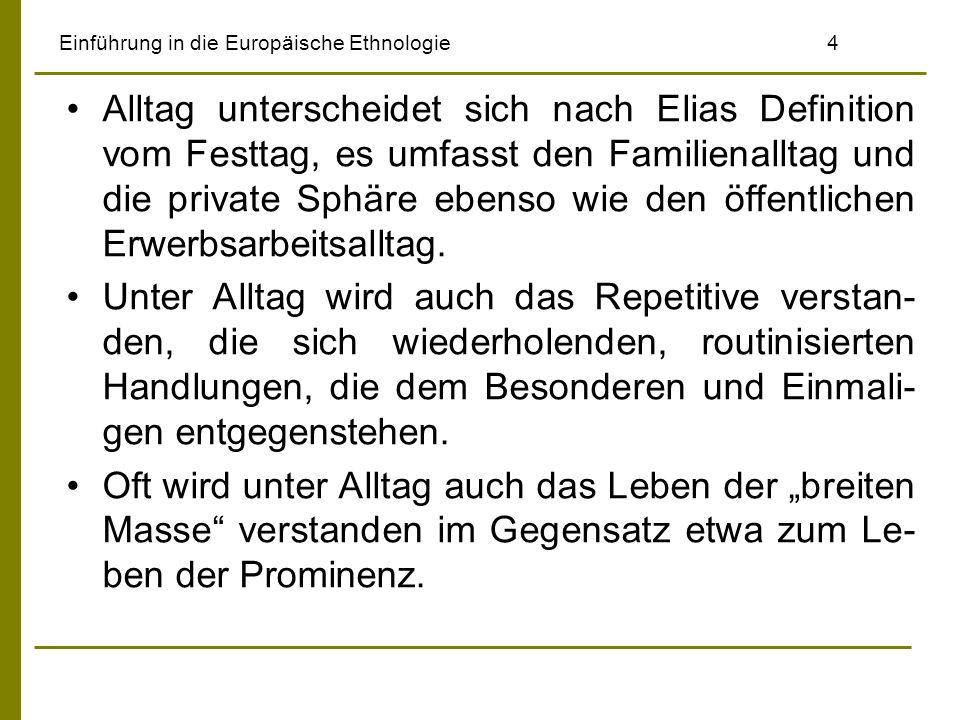 Einführung in die Europäische Ethnologie 4