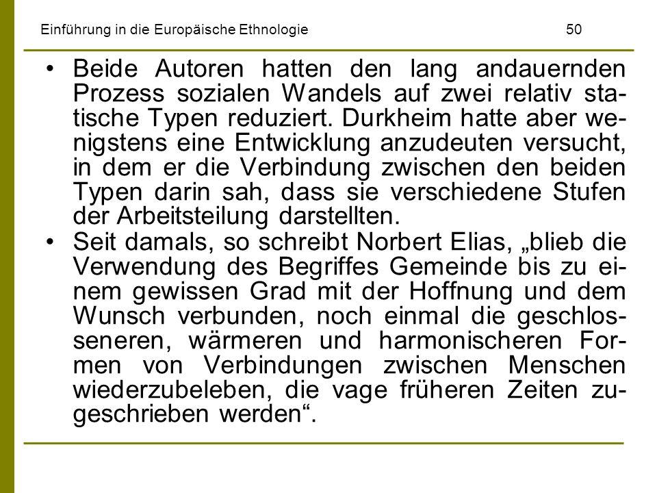 Einführung in die Europäische Ethnologie 50