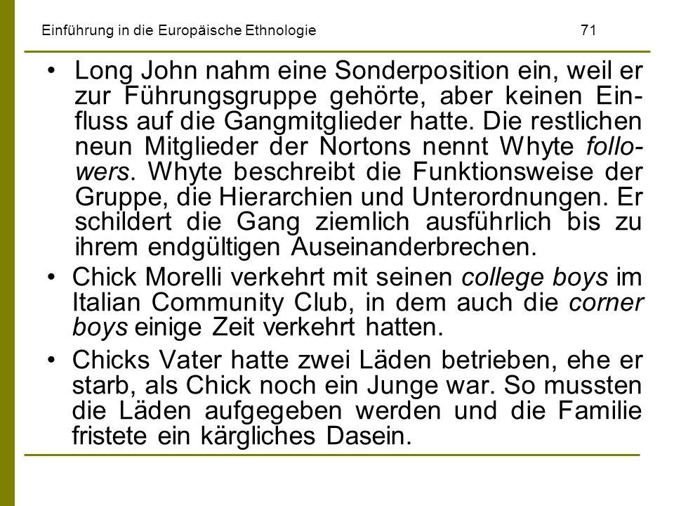Einführung in die Europäische Ethnologie 71