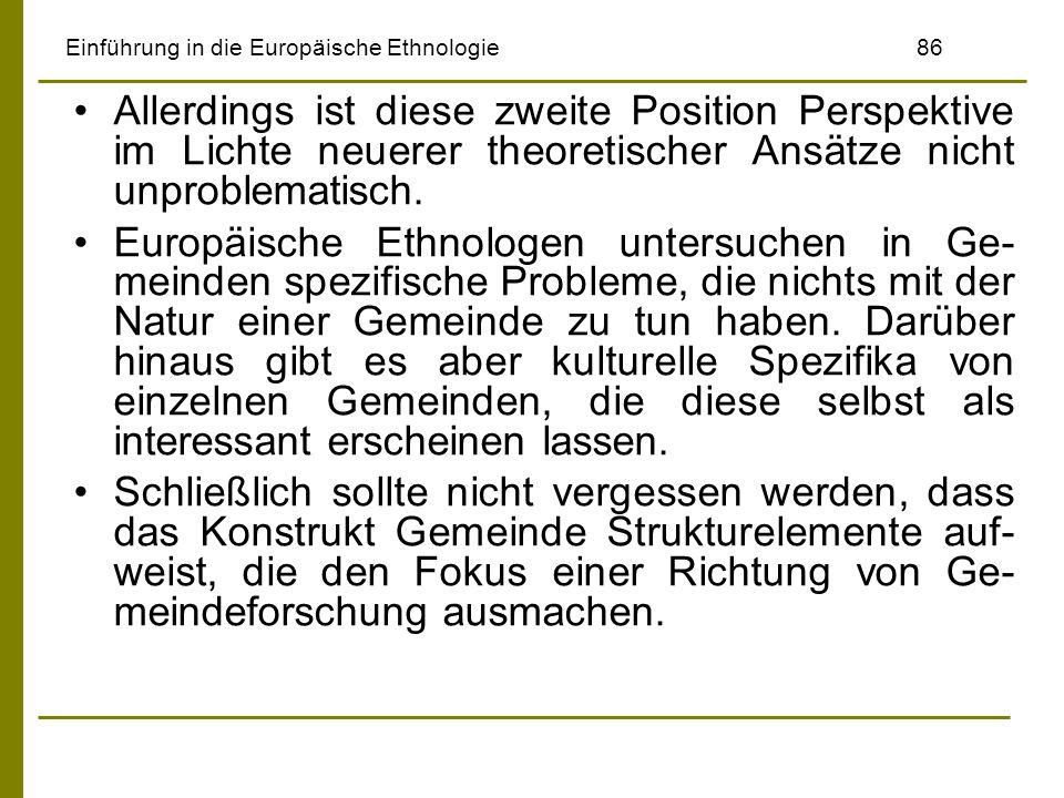 Einführung in die Europäische Ethnologie 86