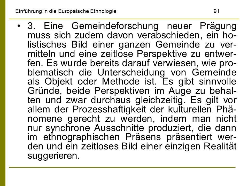 Einführung in die Europäische Ethnologie 91