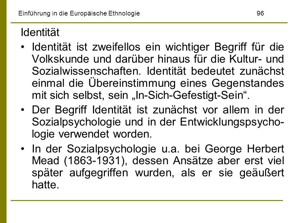 Einführung in die Europäische Ethnologie 96