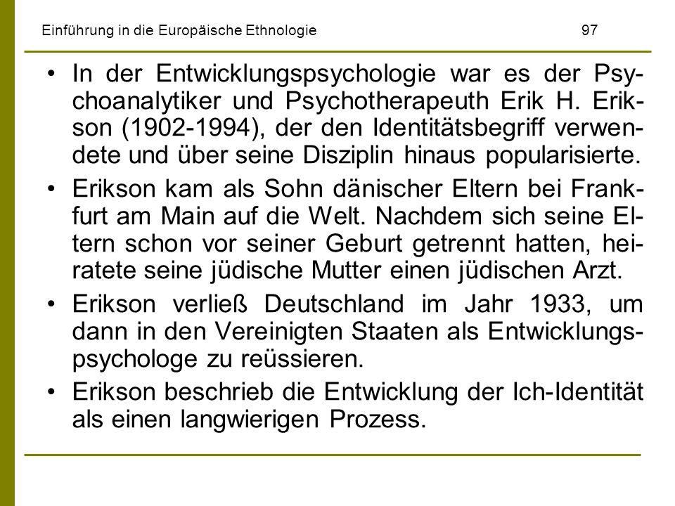 Einführung in die Europäische Ethnologie 97