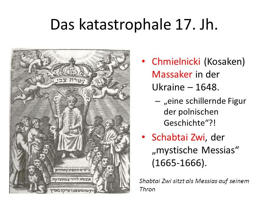 """Das katastrophale 17. Jh. Chmielnicki (Kosaken) Massaker in der Ukraine – 1648. """"eine schillernde Figur der polnischen Geschichte !"""