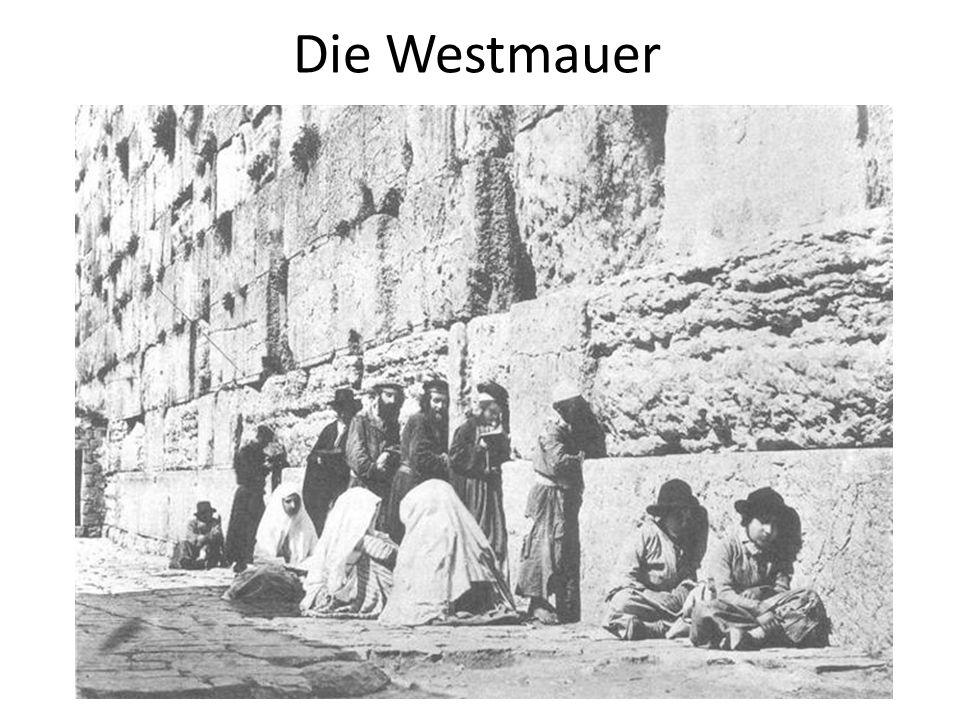 Die Westmauer