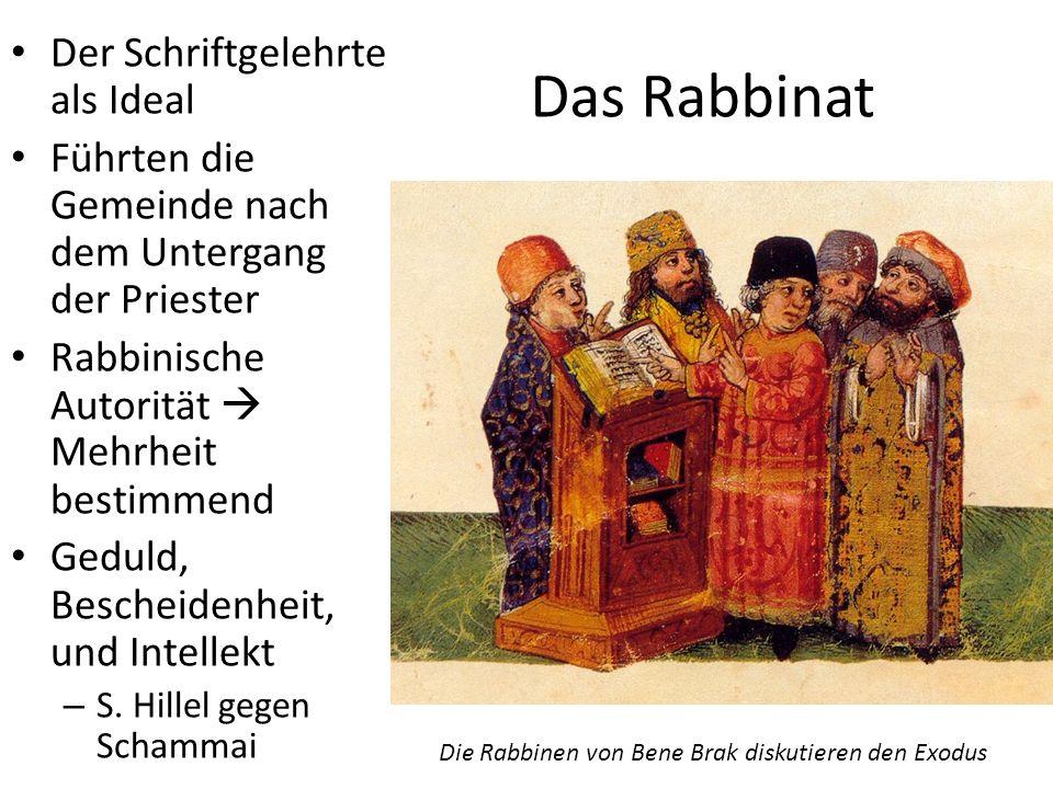 Das Rabbinat Der Schriftgelehrte als Ideal