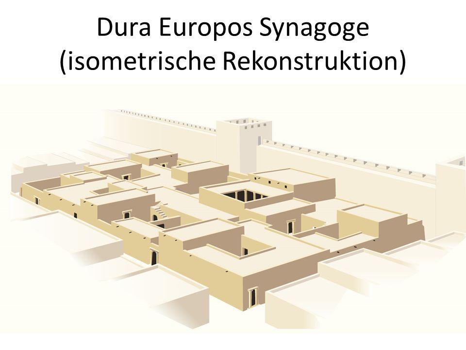 Dura Europos Synagoge (isometrische Rekonstruktion)