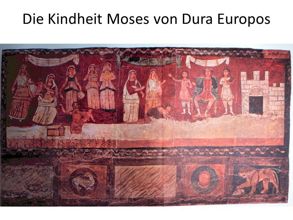 Die Kindheit Moses von Dura Europos