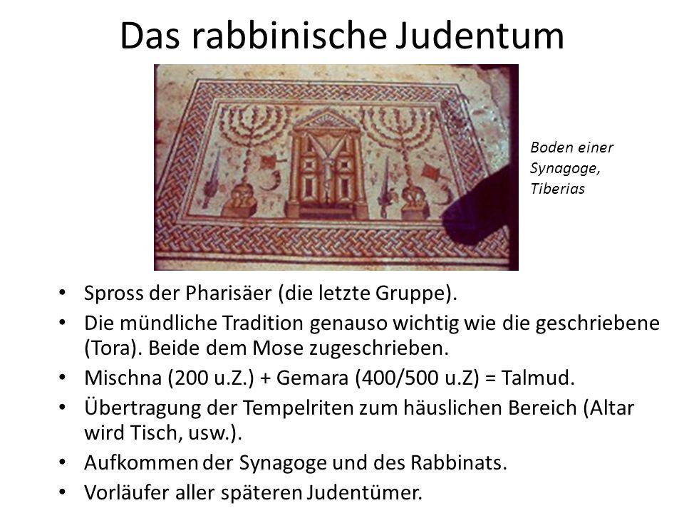 Das rabbinische Judentum