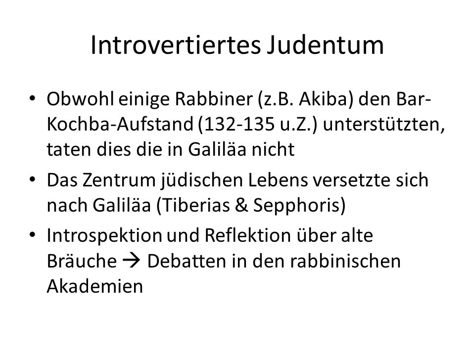Introvertiertes Judentum