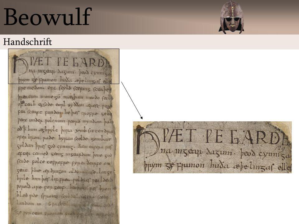 Beowulf Handschrift
