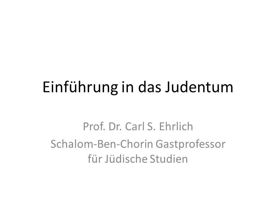Einführung in das Judentum
