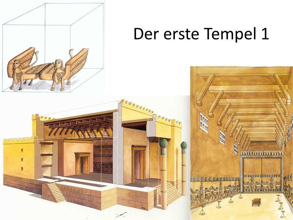 Der erste Tempel 1