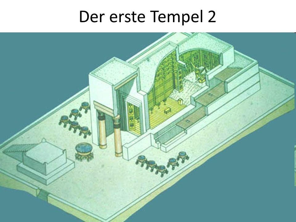 Der erste Tempel 2