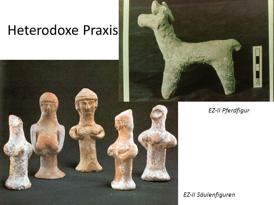 Heterodoxe Praxis EZ-II Pferdfigur EZ-II Säulenfiguren
