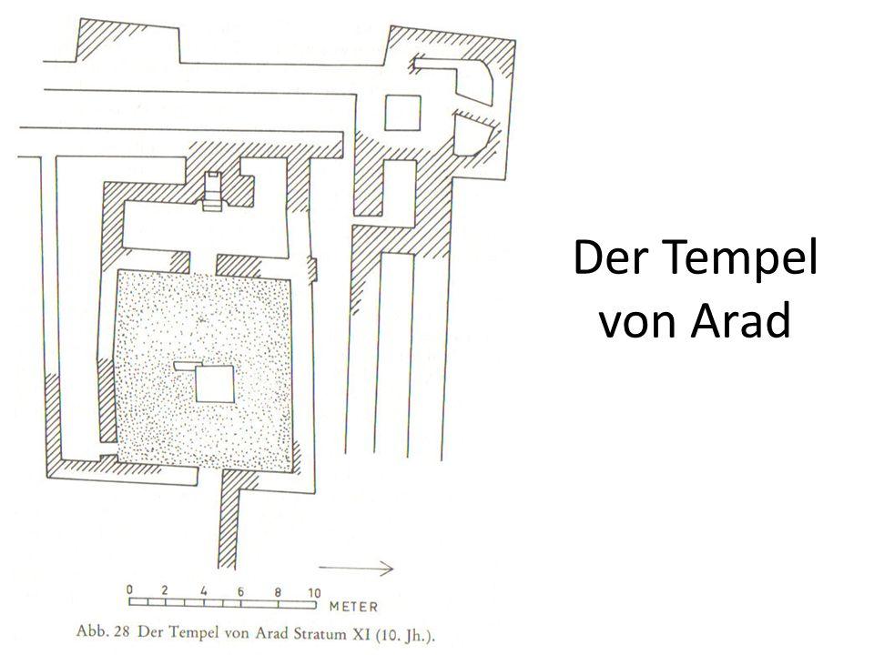 Der Tempel von Arad