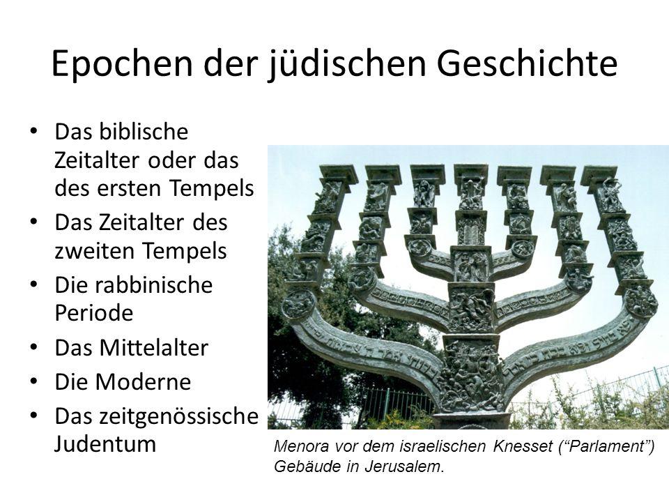Epochen der jüdischen Geschichte