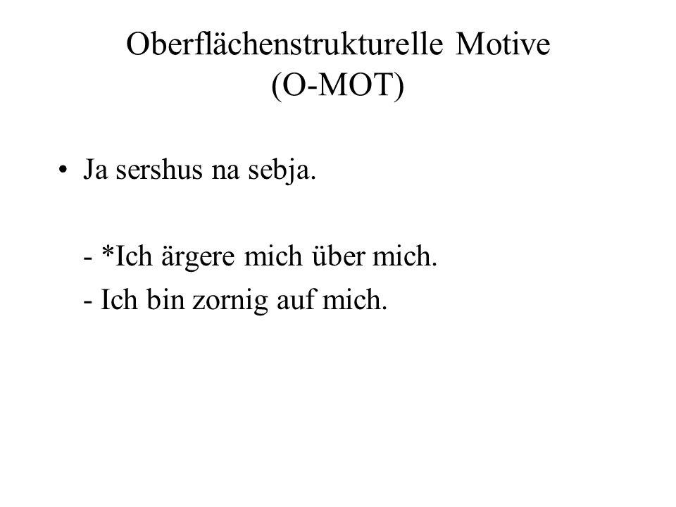 Oberflächenstrukturelle Motive (O-MOT)