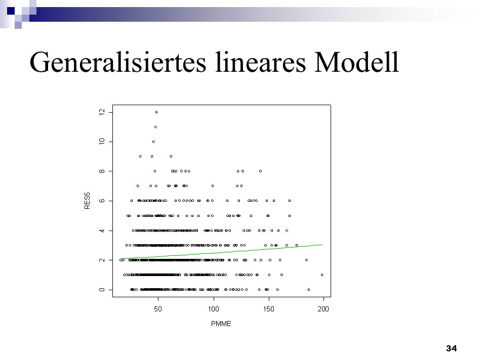 Generalisiertes lineares Modell