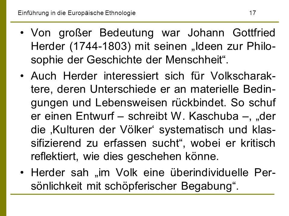 Einführung in die Europäische Ethnologie 17
