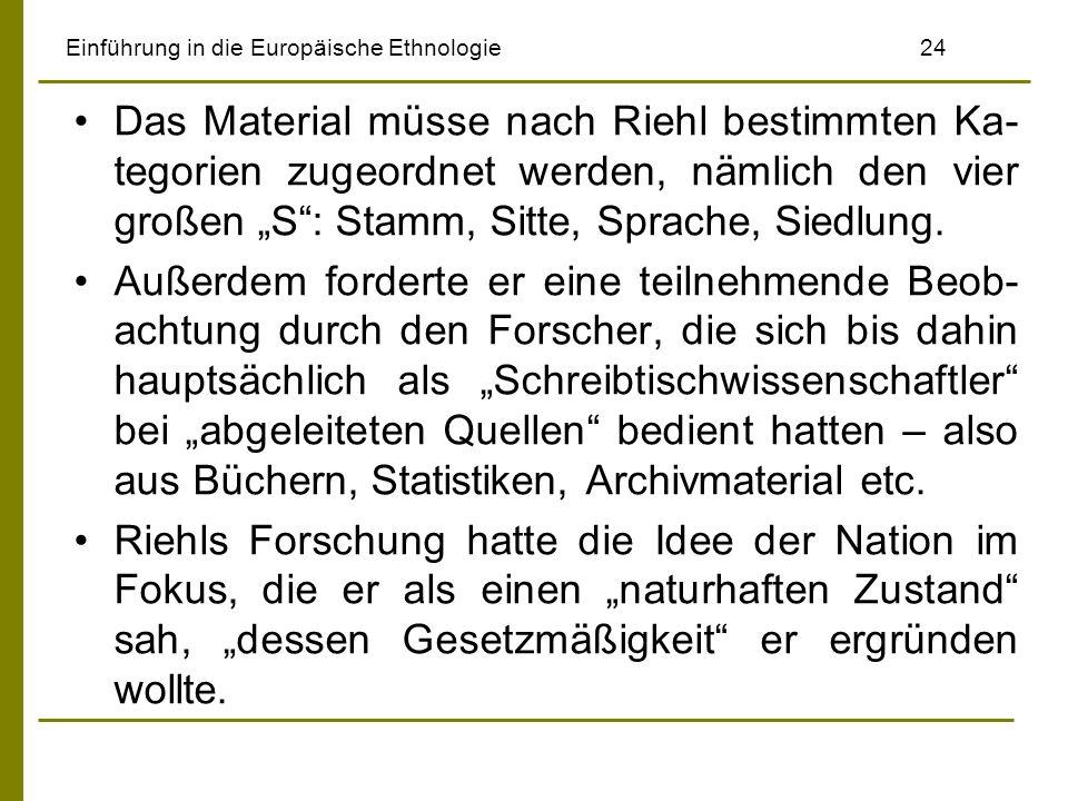 Einführung in die Europäische Ethnologie 24