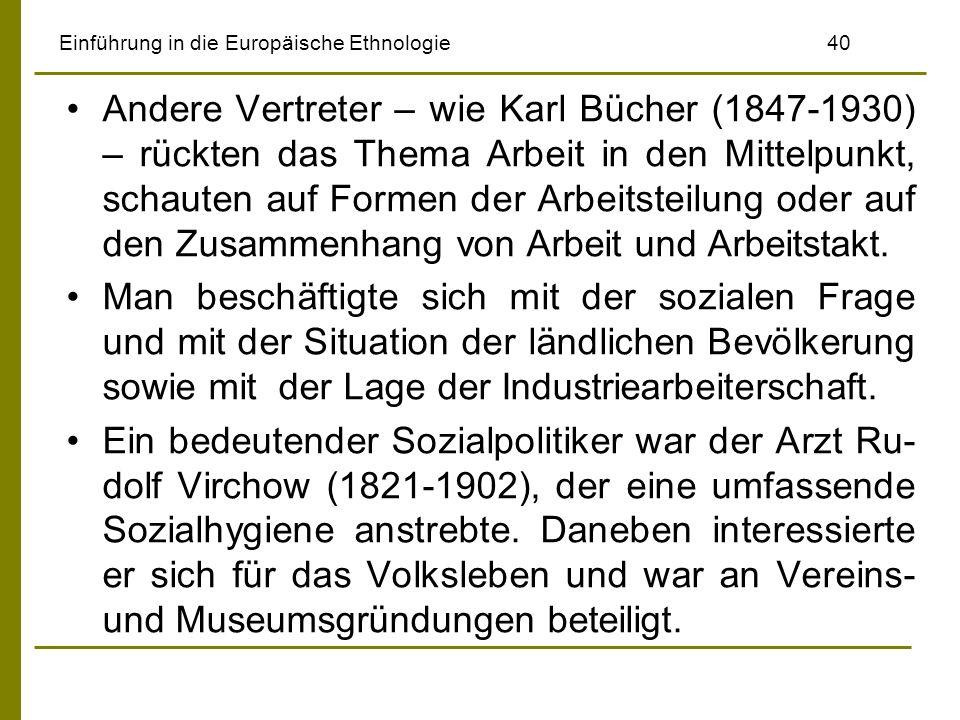 Einführung in die Europäische Ethnologie 40