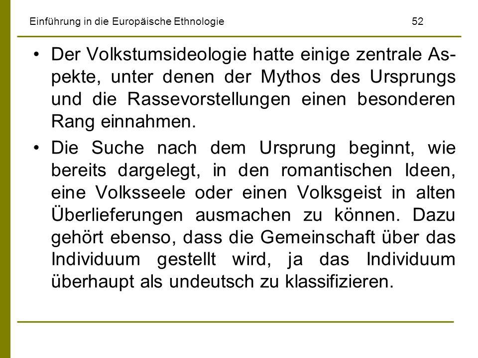 Einführung in die Europäische Ethnologie 52