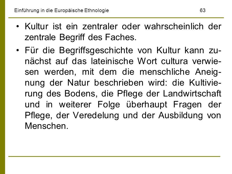 Einführung in die Europäische Ethnologie 63