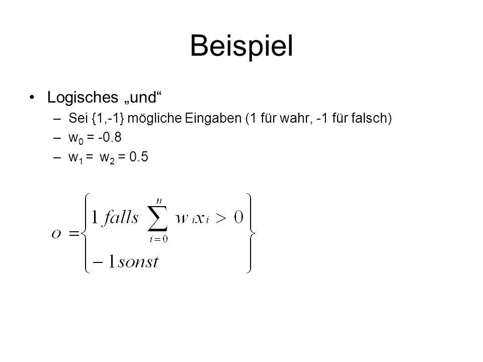 """Beispiel Logisches """"und"""