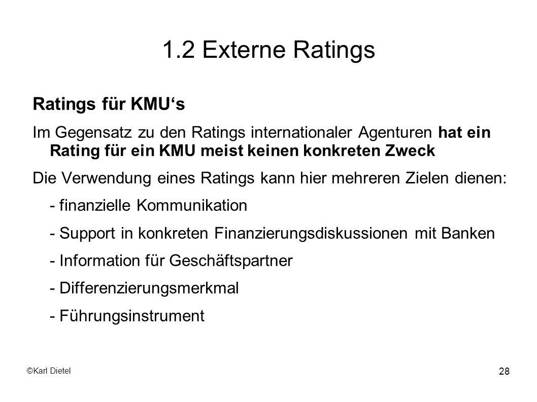 1.2 Externe Ratings Ratings für KMU's