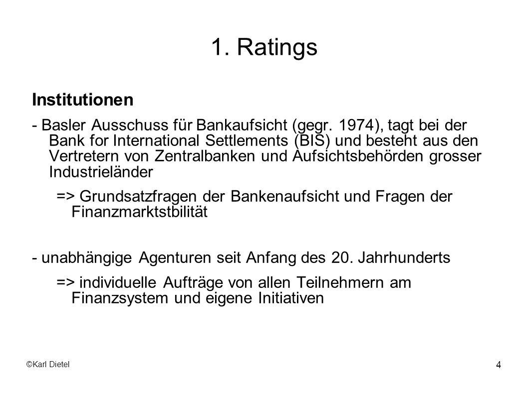 1. Ratings Institutionen