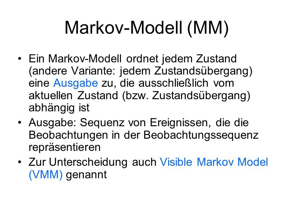 Markov-Modell (MM)