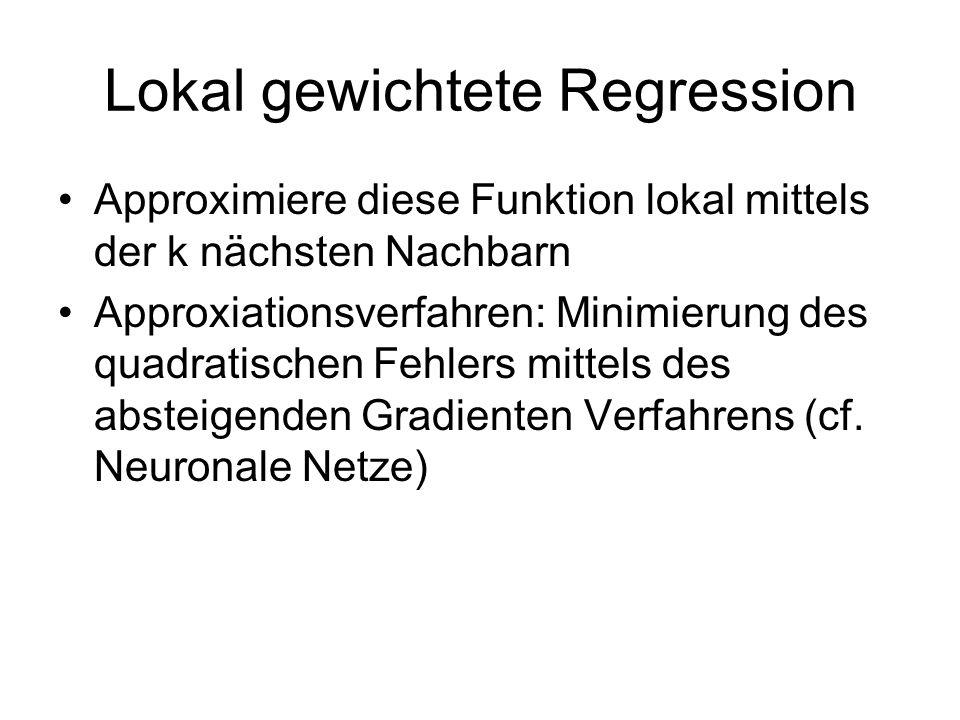 Lokal gewichtete Regression