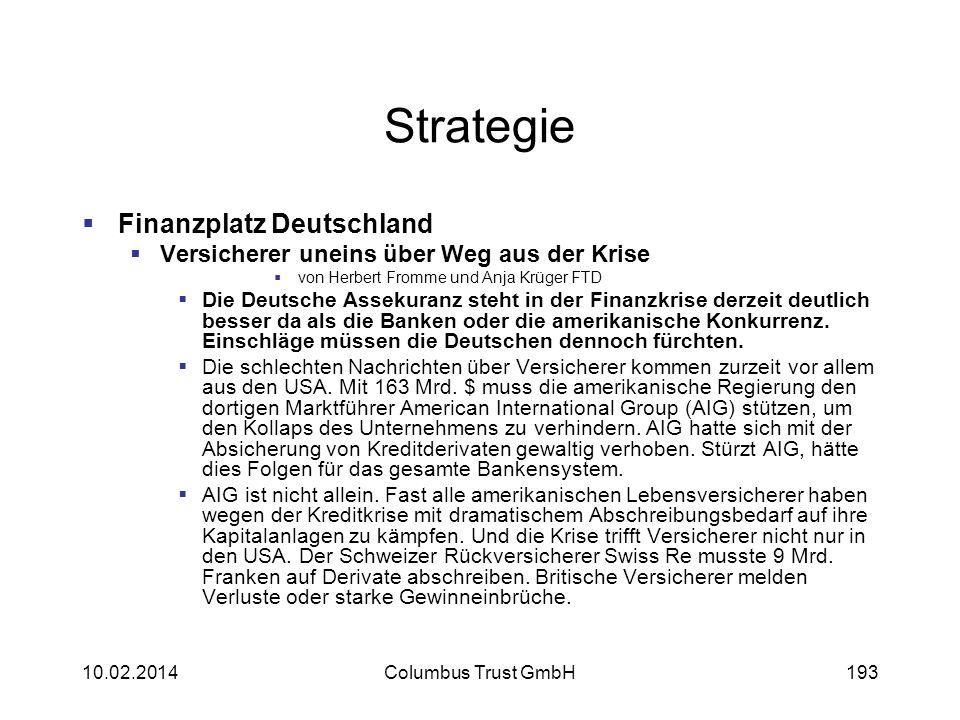 Strategie Finanzplatz Deutschland