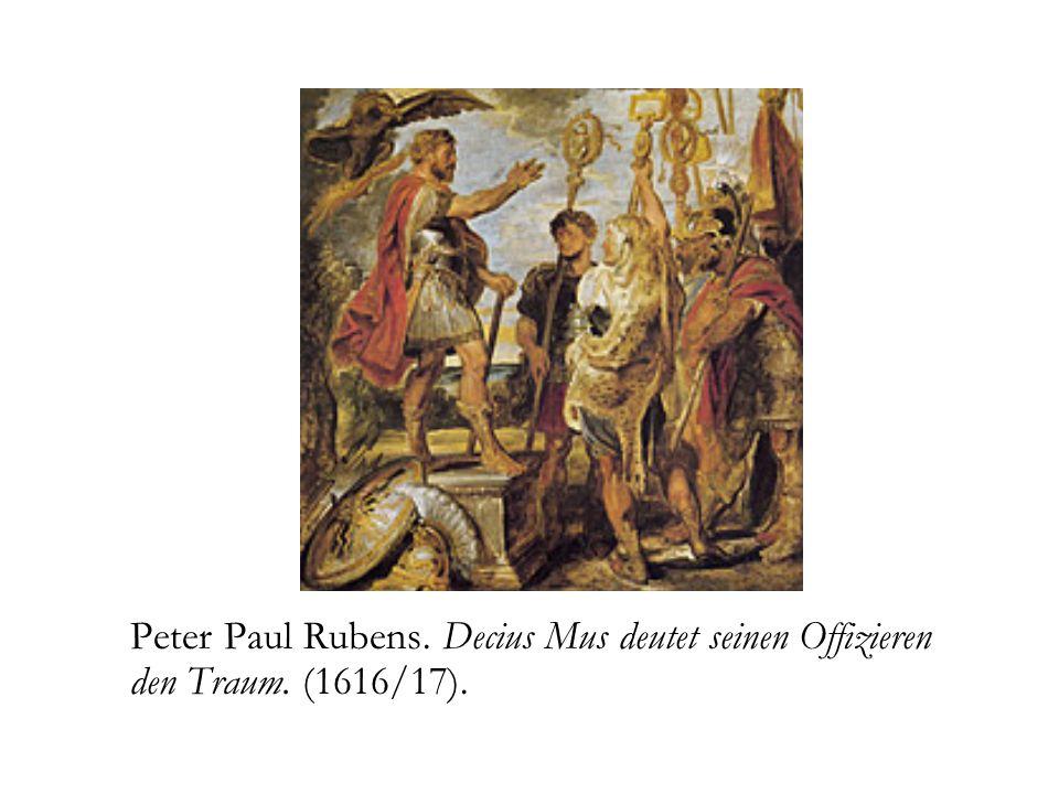 Peter Paul Rubens. Decius Mus deutet seinen Offizieren den Traum