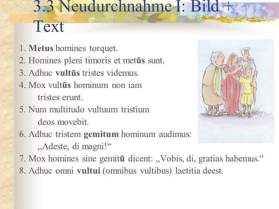 3.3 Neudurchnahme I: Bild + Text