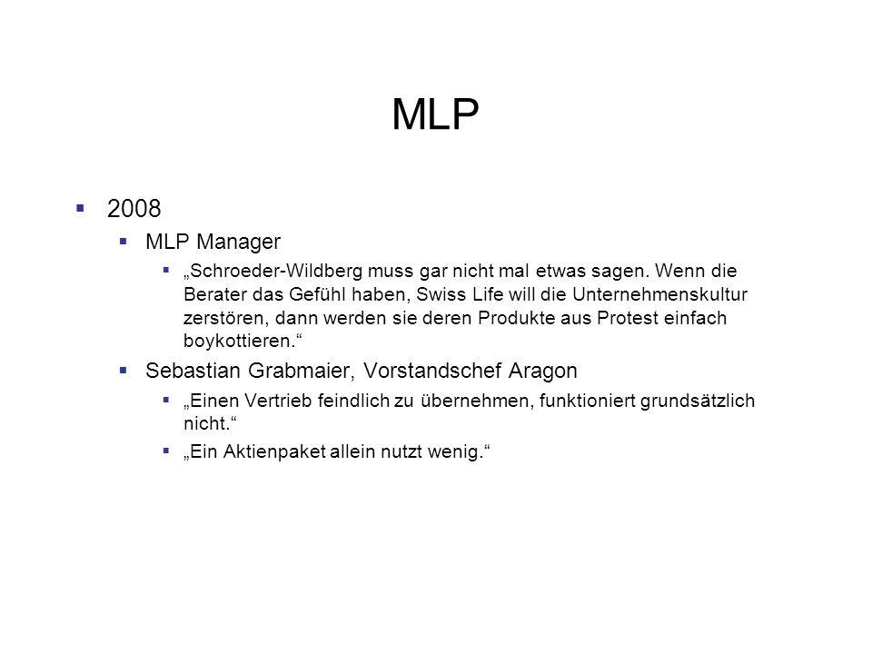 MLP 2008 MLP Manager Sebastian Grabmaier, Vorstandschef Aragon