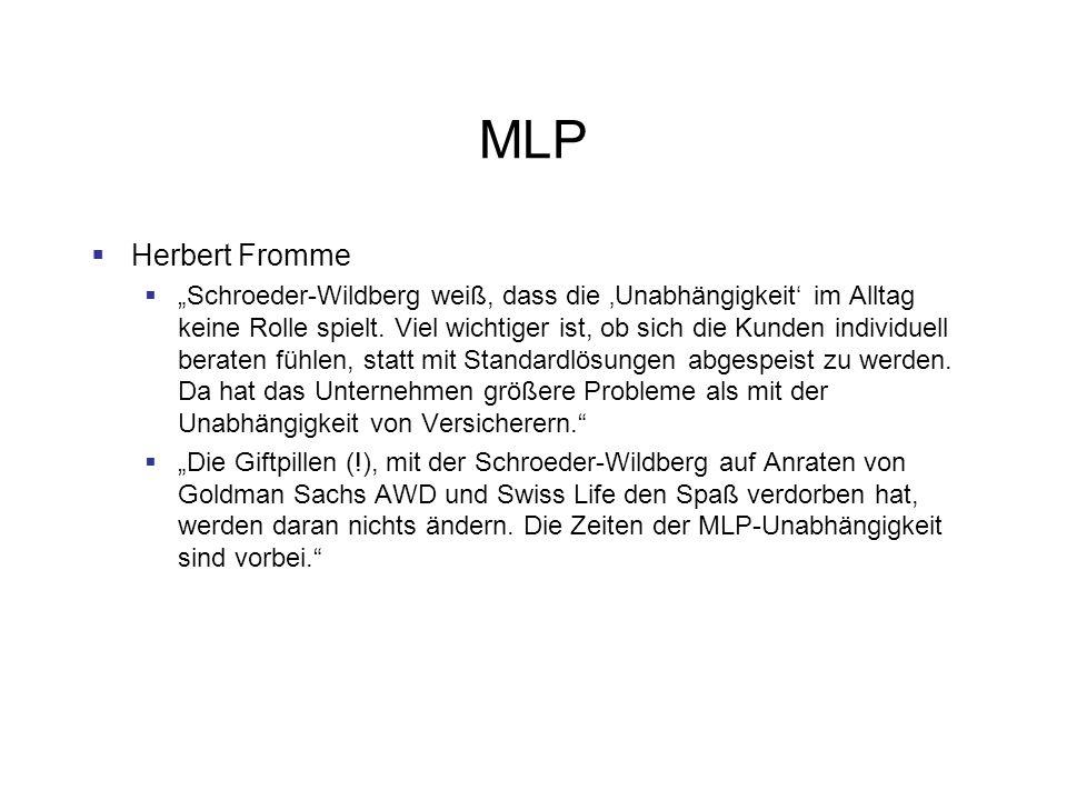 MLP Herbert Fromme.