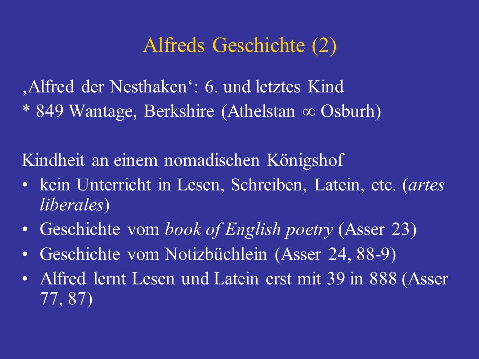 Alfreds Geschichte (2) 'Alfred der Nesthaken': 6. und letztes Kind