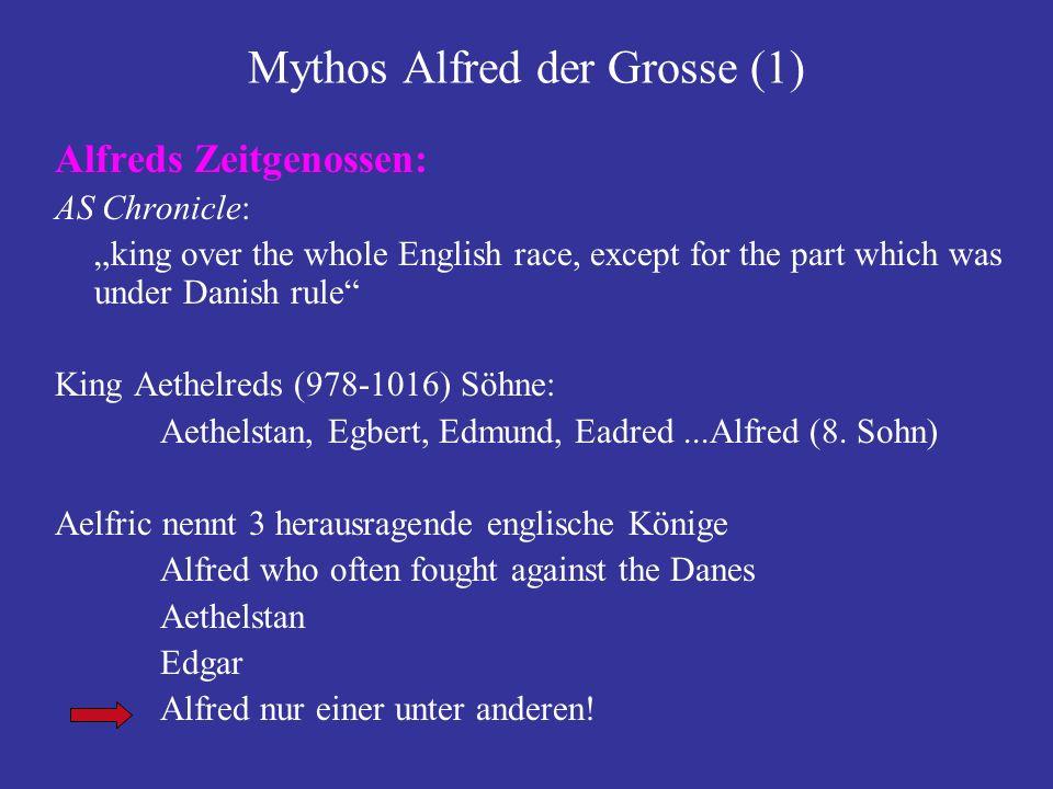 Mythos Alfred der Grosse (1)