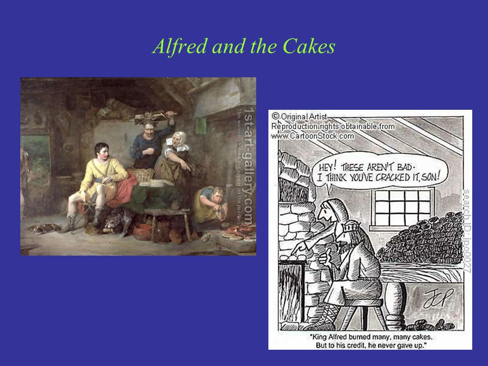 Alfred and the Cakes