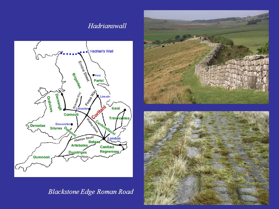 Hadrianswall Blackstone Edge Roman Road