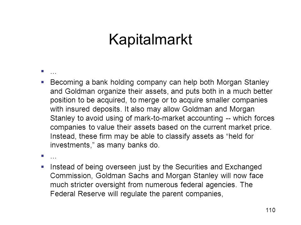 Kapitalmarkt ...