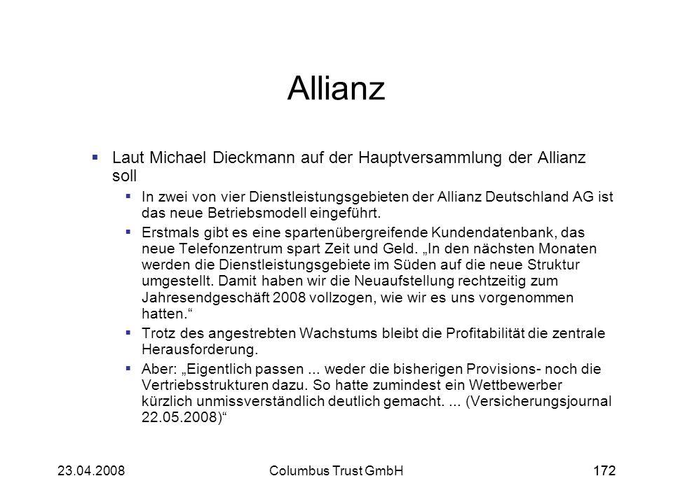 Allianz Laut Michael Dieckmann auf der Hauptversammlung der Allianz soll.
