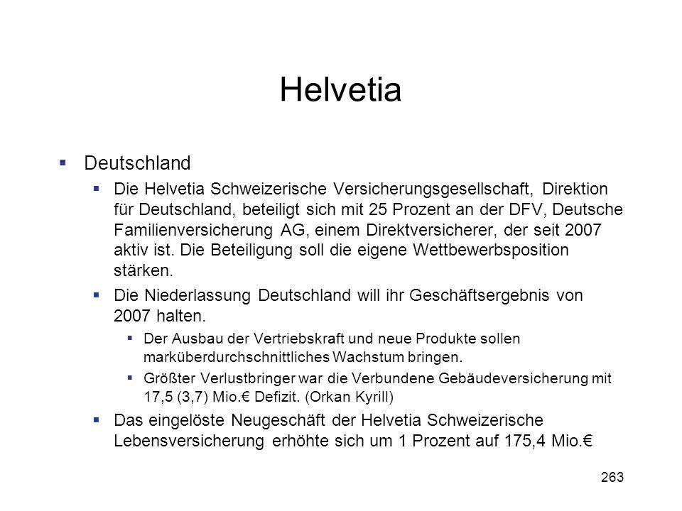 Helvetia Deutschland.