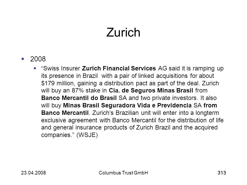 Zurich 2008.