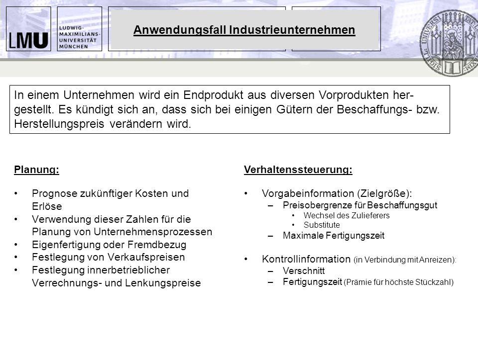 Anwendungsfall Industrieunternehmen