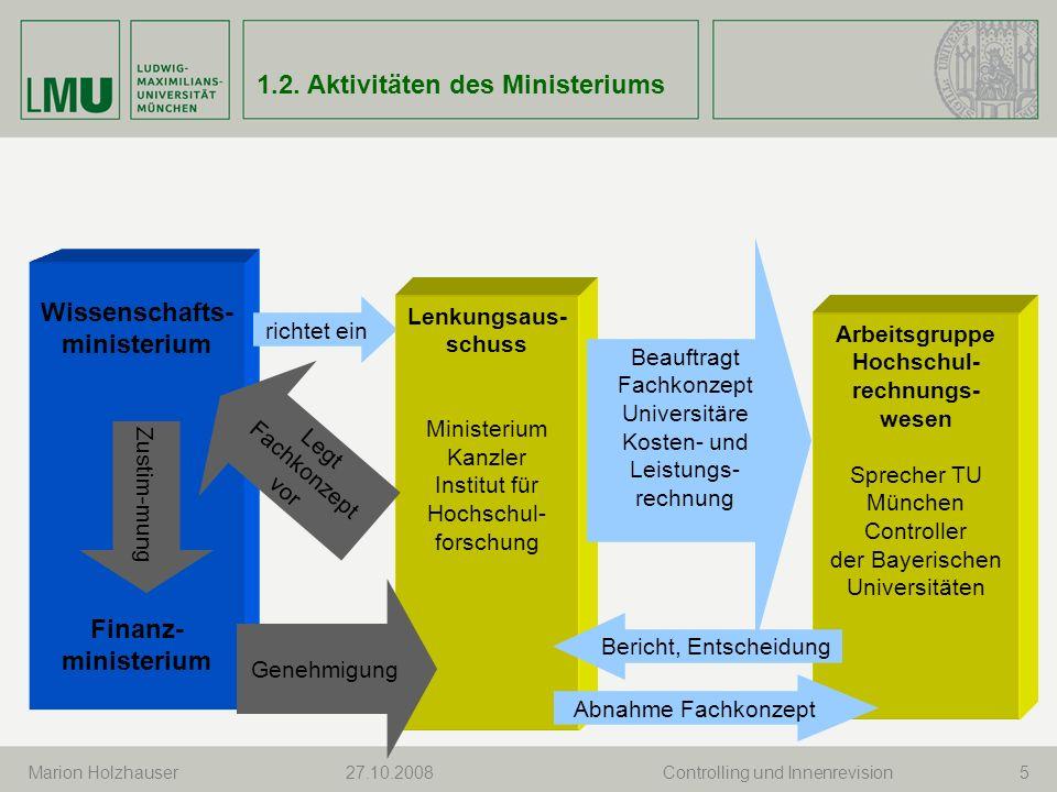 Wissenschafts-ministerium Hochschul-rechnungs-