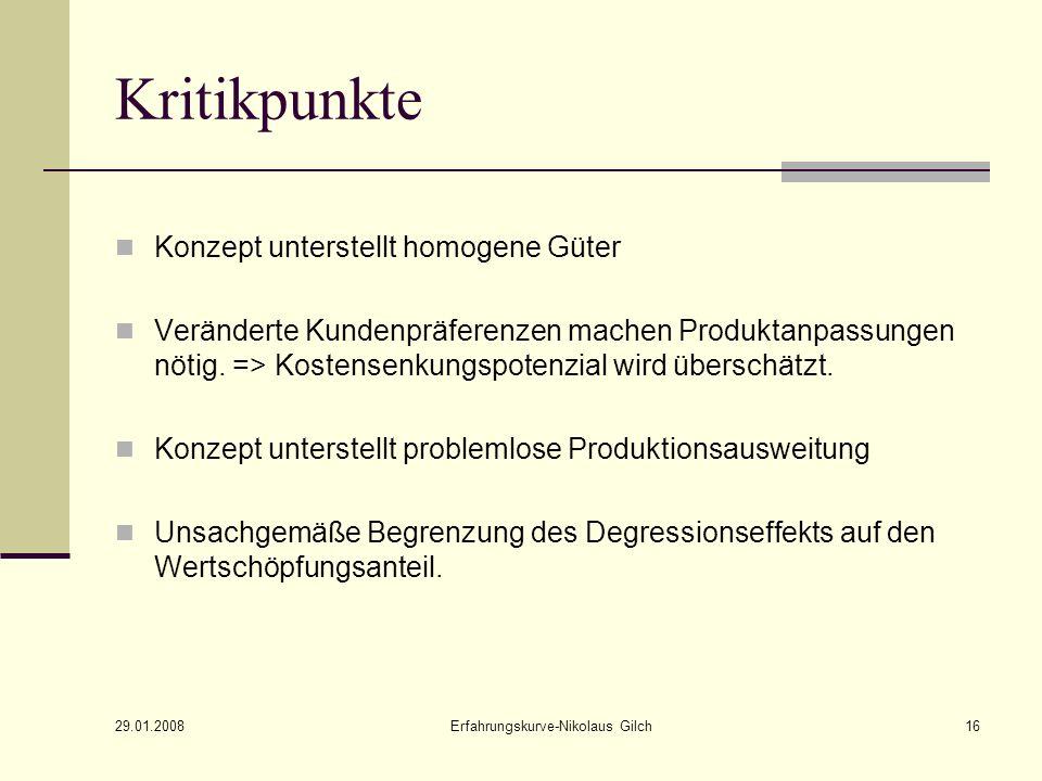 Erfahrungskurve-Nikolaus Gilch