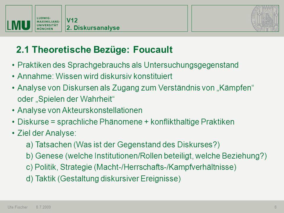 2.1 Theoretische Bezüge: Foucault
